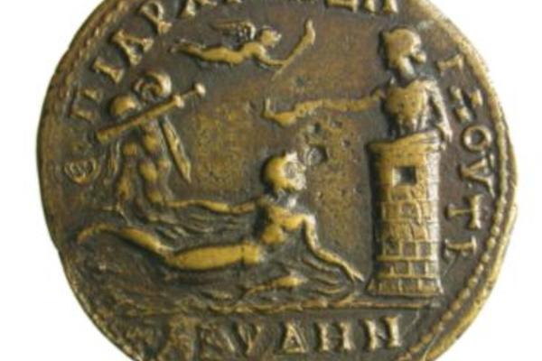 Photo of a roman coin