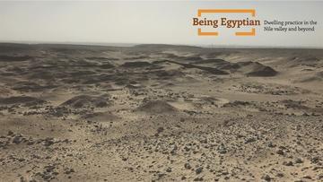 Photo of the desert in Egypt